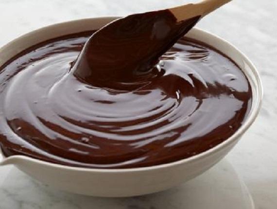 کرم گاناش شکلاتی