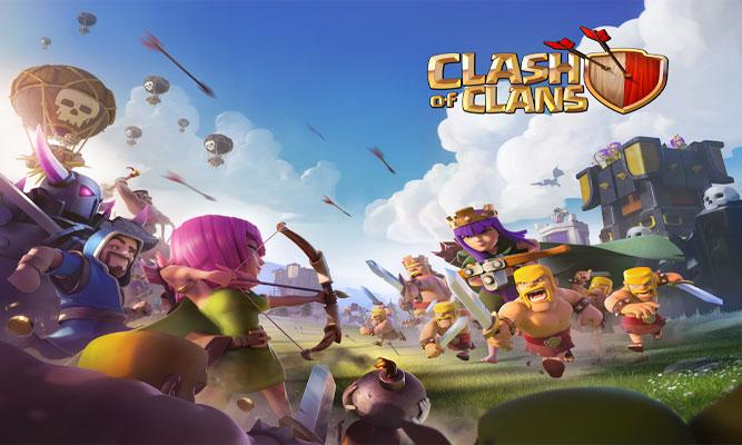 دانلود Clash of Clans 8.67.8 – بازی آنلاین جنگ قبیله ها اندروید – آذرماه
