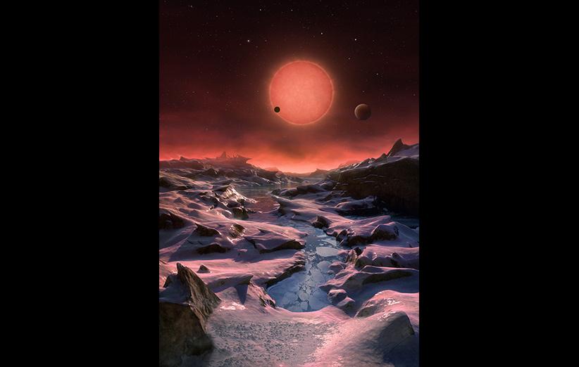 تصویر نجومی روز ناسا (۱۸ اردیبهشت ۹۵): سه سیاره برای یک ستاره