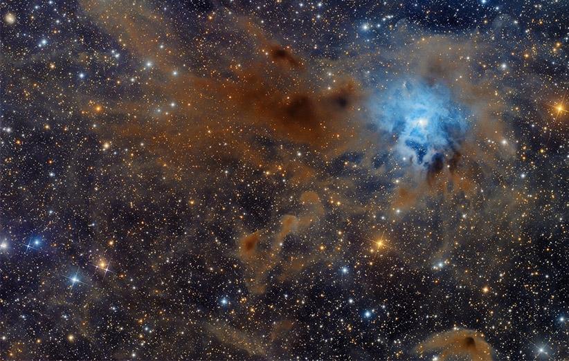 تصویر نجومی روز ناسا (۱۷ اردیبهشت ۹۵): سحابی عنبیه