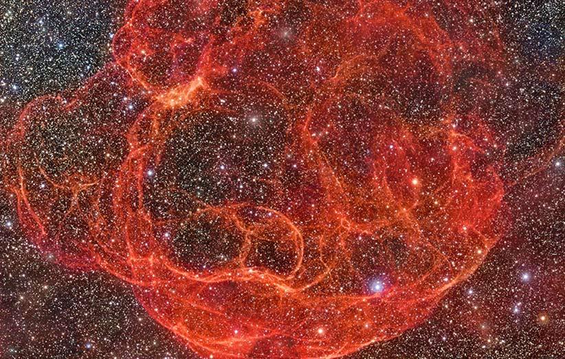 تصویر نجومی روز ناسا (۶ اردیبهشت ۹۵): سحابی اسپاگتی