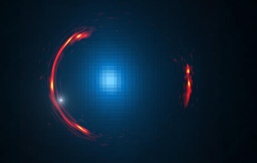 تصویر نجومی روز ناسا (۱ اردیبهشت ۹۵): حلقهی اینشتین