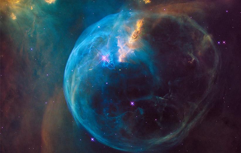 تصویر نجومی روز ناسا (۳ اردیبهشت ۹۵): سحابی حباب