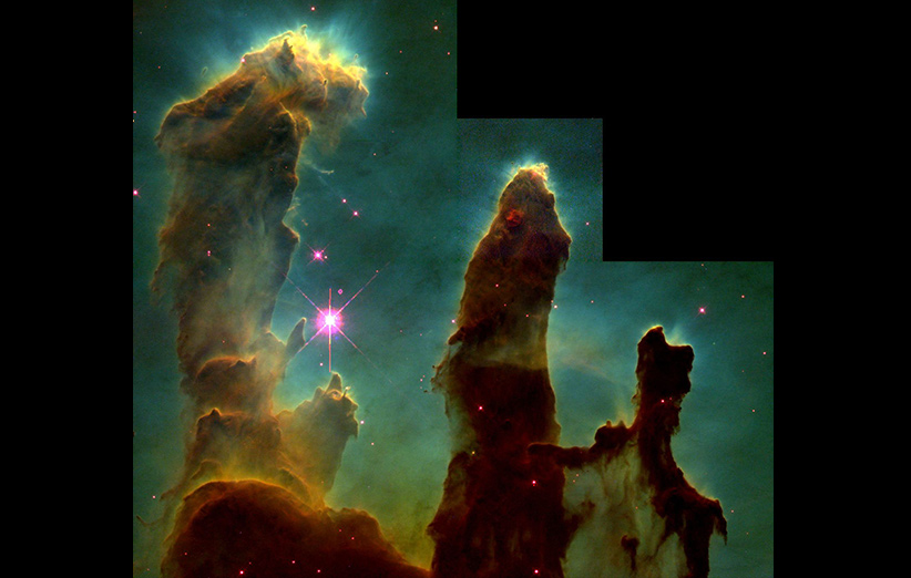 تصویر نجومی روز ناسا (۵ اردیبهشت ۹۵): ستونهای آفرینش