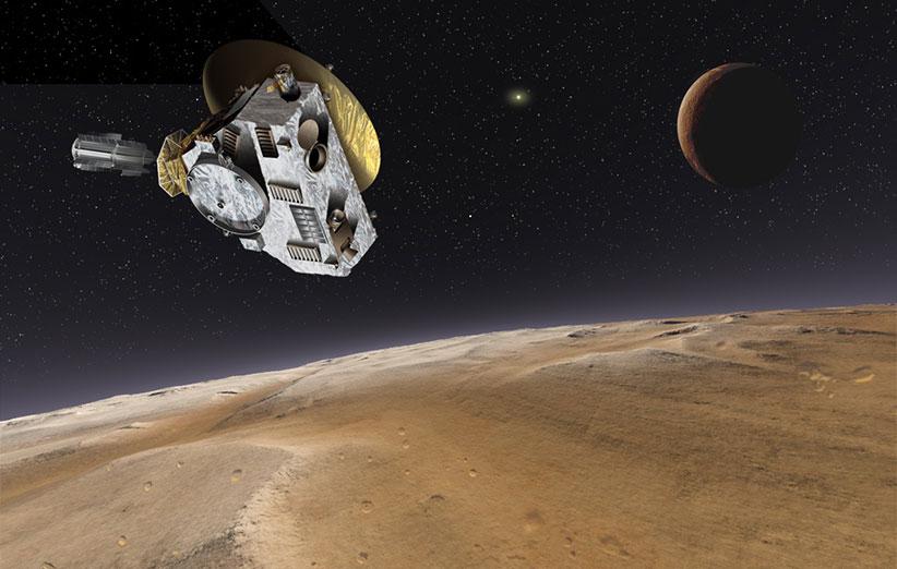 کاوشگر فضایی افقهای نو چگونه عکسهای پلوتو را دریافت میکند؟