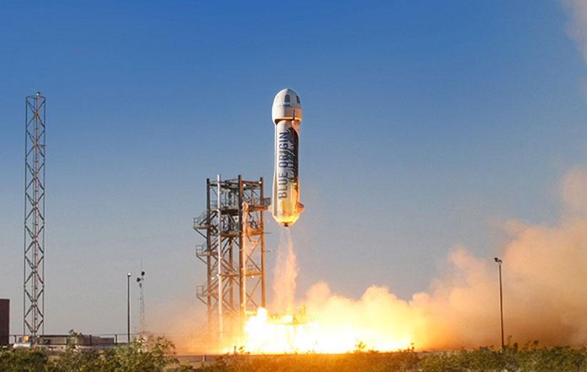 مدیرعامل آمازون، موشکهای فضایی میسازد