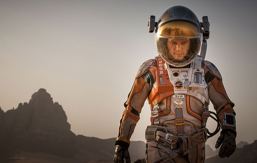 عکسهای واقعی مریخ که صحنههای فیلم «مریخی» از روی آنها ساخته شده را ببینید