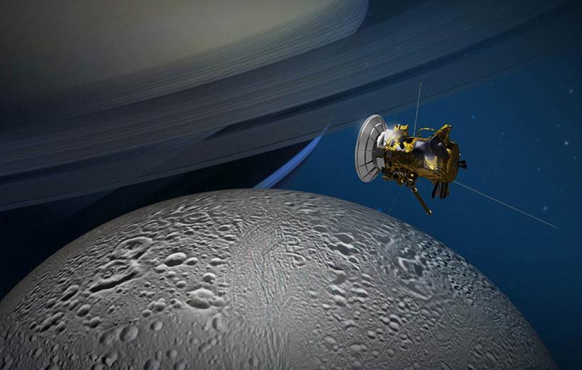 کاسینی برای آخرین بار به قمر زحل نزدیک میشود