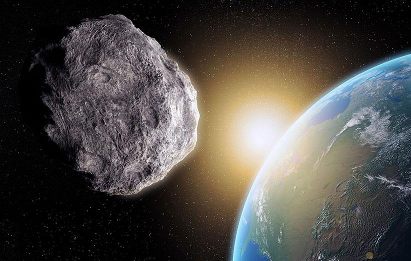 نزدیکی غافلگیرکنندهی یک سیارک به زمین
