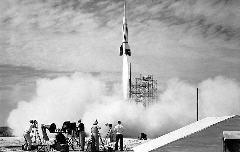 موشک آلمانی که به فضا رسید