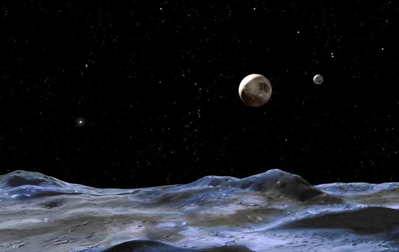 افقهای نو تصویری از سربروس، قمر پلوتو، ارسال کرد