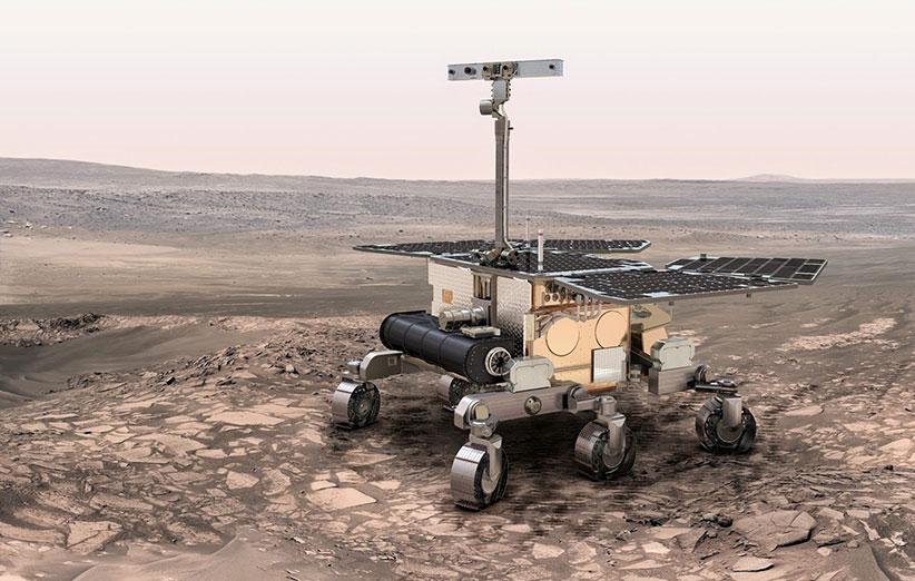 مریخنورد اروپایی ExoMars راهی سیارهی سرخ میشود