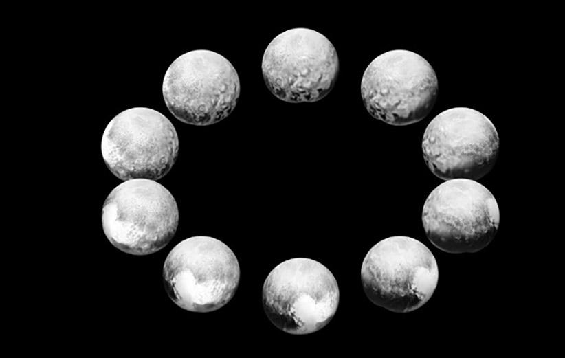 ناسا عکسهایی از یک روز کامل پلوتو را منتشر کرد