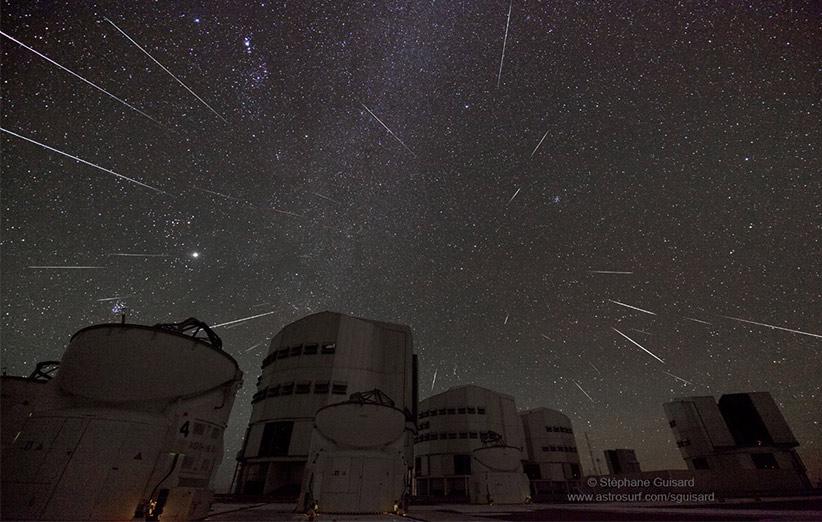 تصویر نجومی روز ناسا (۲۲ آذر ۹۴): وقتی آسمان ستارهپرانی میکند