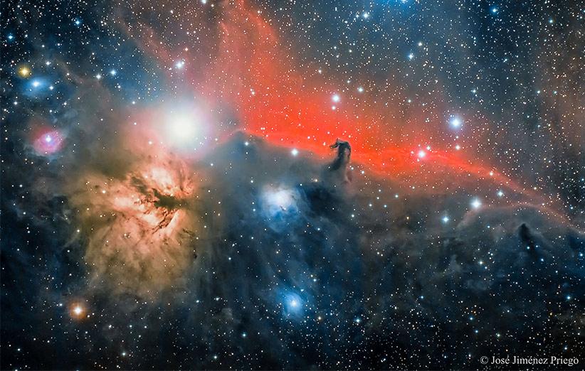 تصویر نجومی روز ناسا (۲۵ آذر ۹۴): سحابی سر اسب