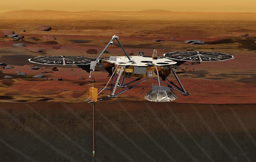 لرزهنگار فرانسوی، ماموریت مریخ را به تاخیر انداخت