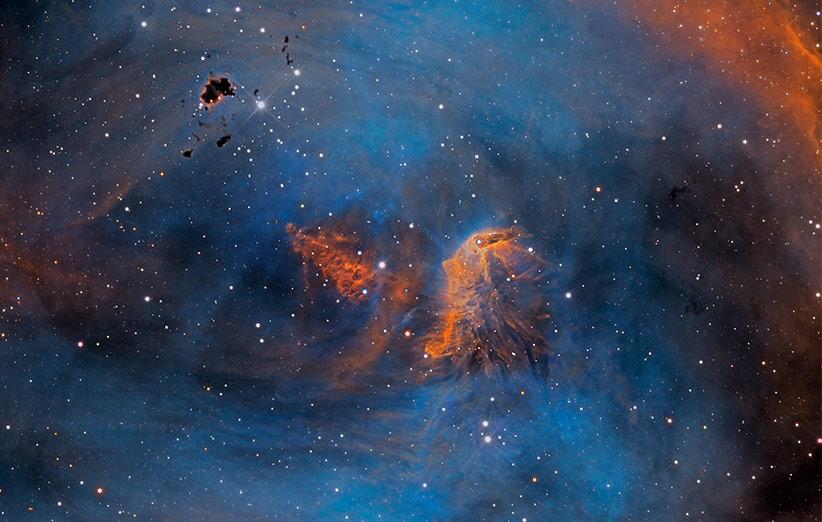 تصویر نجومی روز ناسا (۳۰ دی ۹۴): ستارههای سحابی مرغ دونده