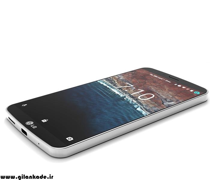 گوشی LG G6 ضد آب است و شارژ بی سیم دارد