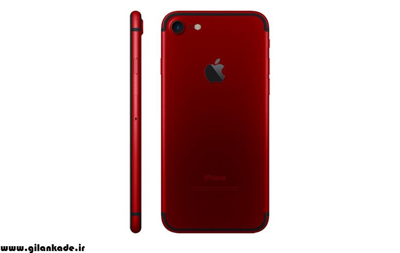 امسال به جای آیفون 8، آیفون 7 اس قرمز می آید