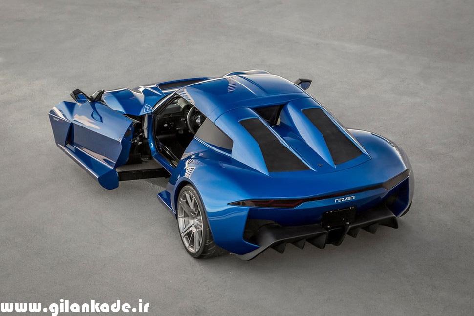 خودروهای Beast متعلق به شرکت رضوانی (Rezvani)