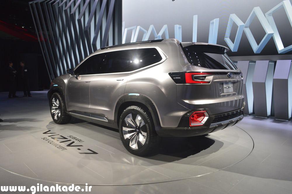 Viziv-7 ؛ جدیدترین اتومبیل سوبارو را ببینید