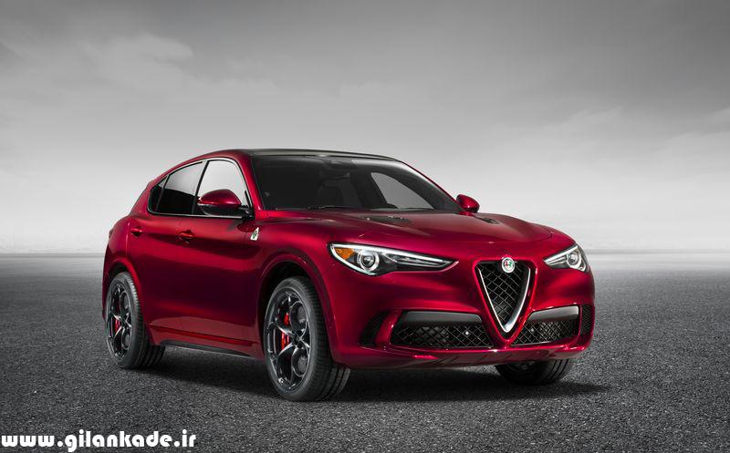 Stelvio؛ سریعترین SUV دنیا را آلفا رومئو معرفی کرد