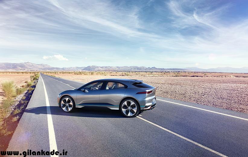 تصاویر خیرهکننده خودروی الکتریکی جگوار را ببینید