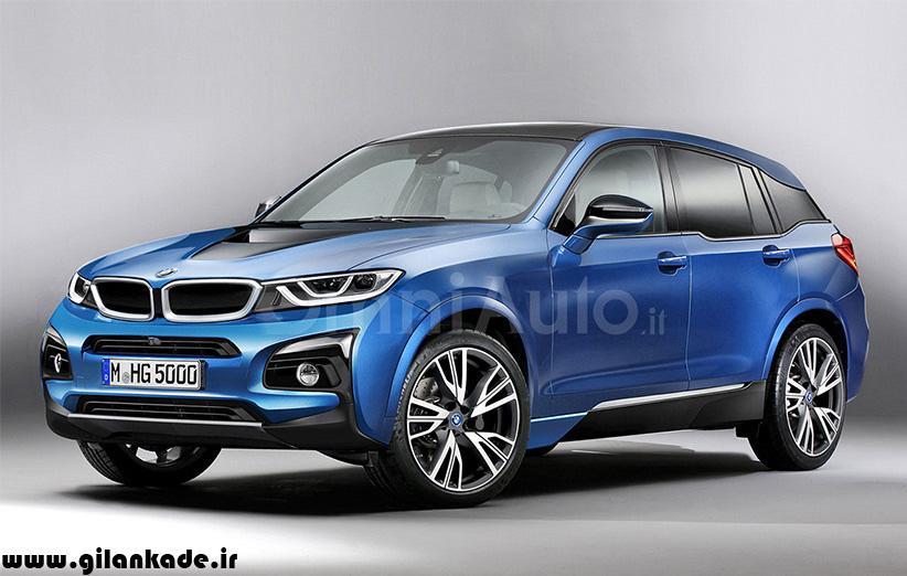 BMW i5، شاسی بلند هیبریدی آینده