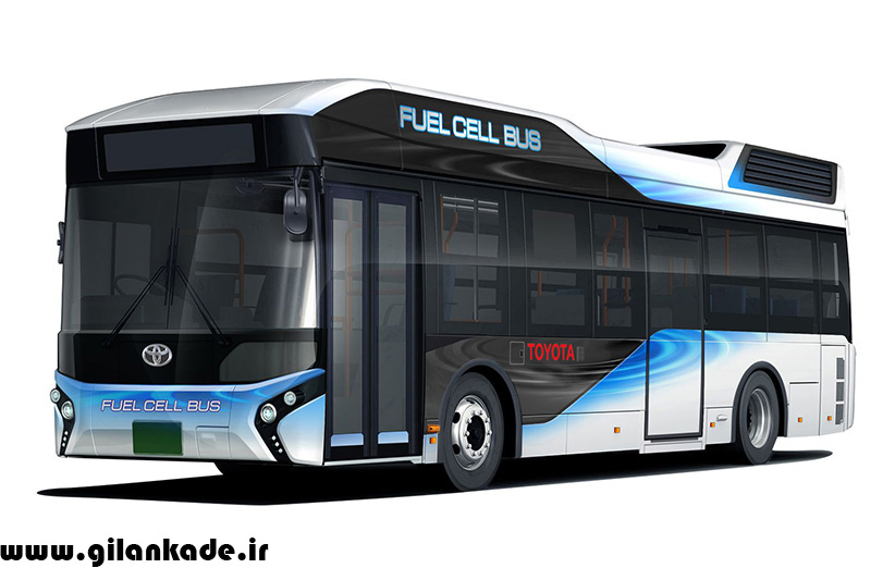 اتوبوسهای هیدروژنی تویوتا راهی خیابانهای شهر میشوند