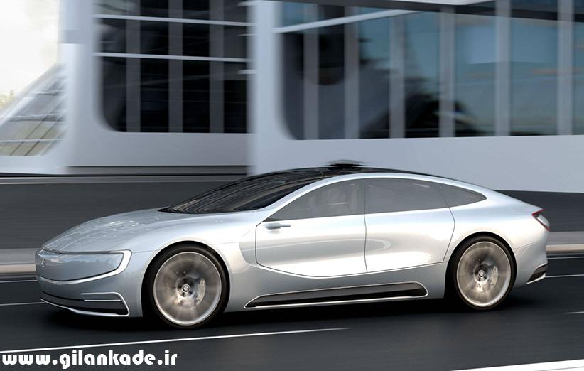 تصاویر خودروی الکتریکی جدید LeEco را ببینید