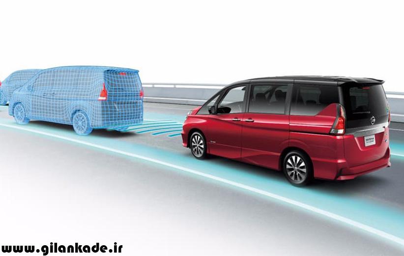 نیسان سرنا، نخستین ماشین خودران ژاپنی