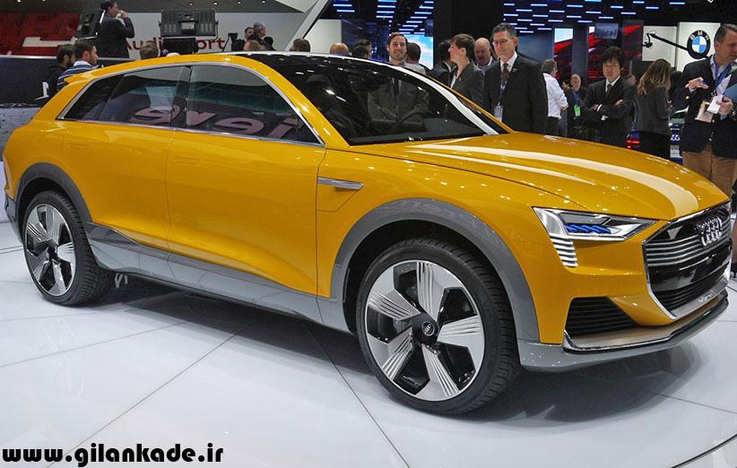 آئودی تا سال ۲۰۲۰ سه خودروی برقی میسازد