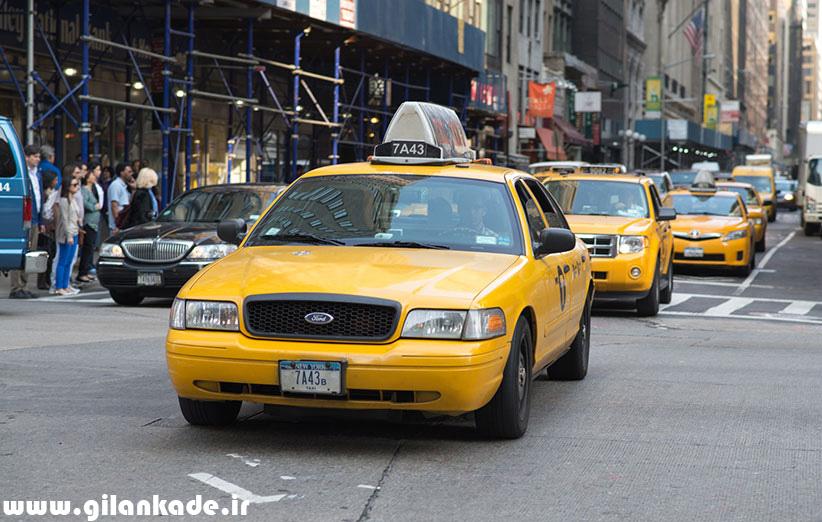 تاکسیهای نیویورک هم به اشتراک گذاشته میشوند