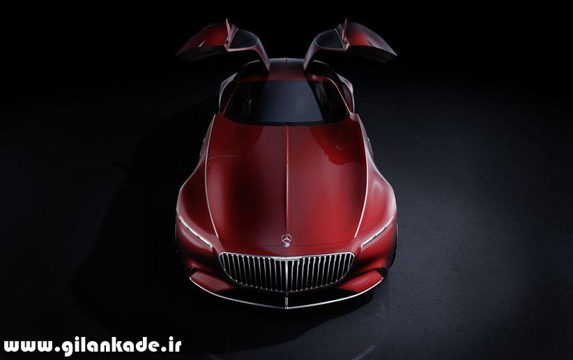 طرح مفهومی خودروی افسانهای مرسدس مایباخ را ببینید