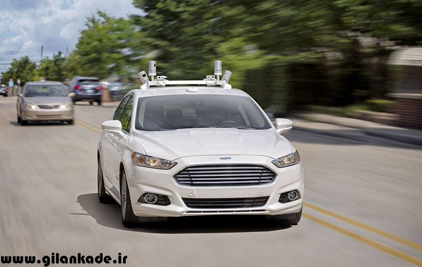 فورد تا سال ۲۰۲۱ یک ماشین خودران بدون فرمان و پدال میسازد