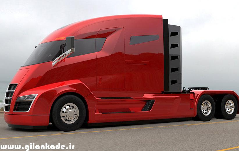 نیکولا شرکتی که کامیونهای برقی میسازد