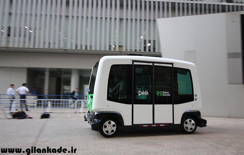 ژاپن اتوبوسهای خودران را آزمایش میکند