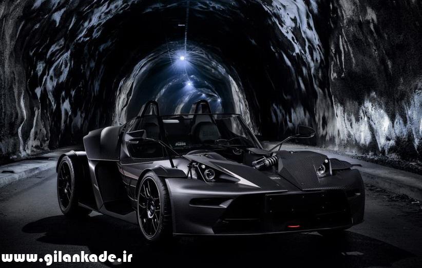 X-Bow Black Edition تفاوت زیادی با ماشین بتمن ندارد