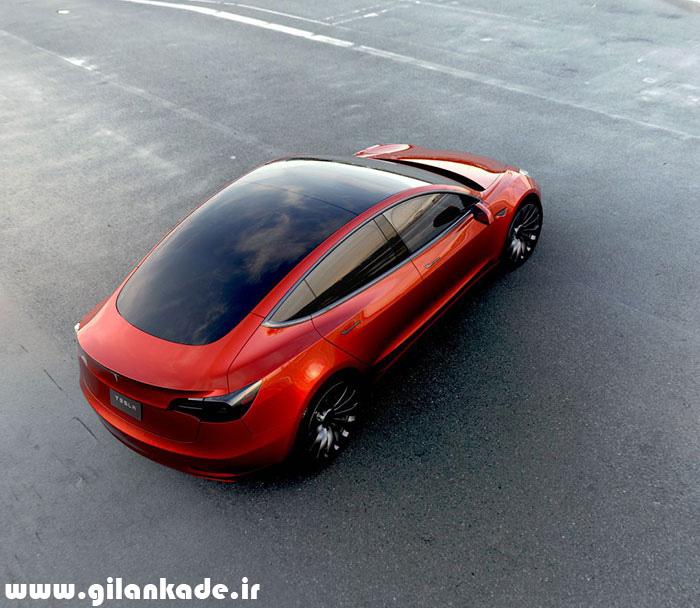 رونمایی رسمی از تسلا مدل ۳