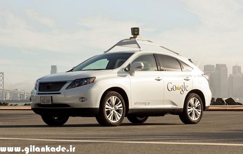 اتومبیل خودران گوگل باز هم تصادف کرد