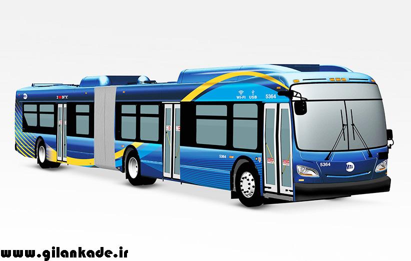 آغاز تردد اتوبوسهای تکنولوژیک در نیویورک