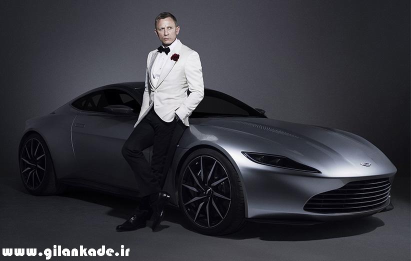 ۳٫۵ میلیون دلار برای ماشین جیمز باند در فیلم Spectre
