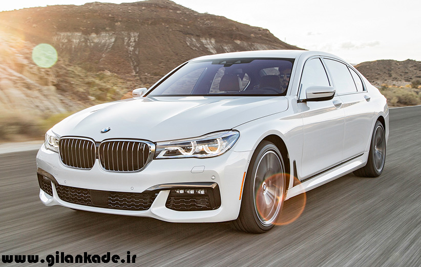 BMW M760i مدل ۲۰۱۷ رونمایی شد