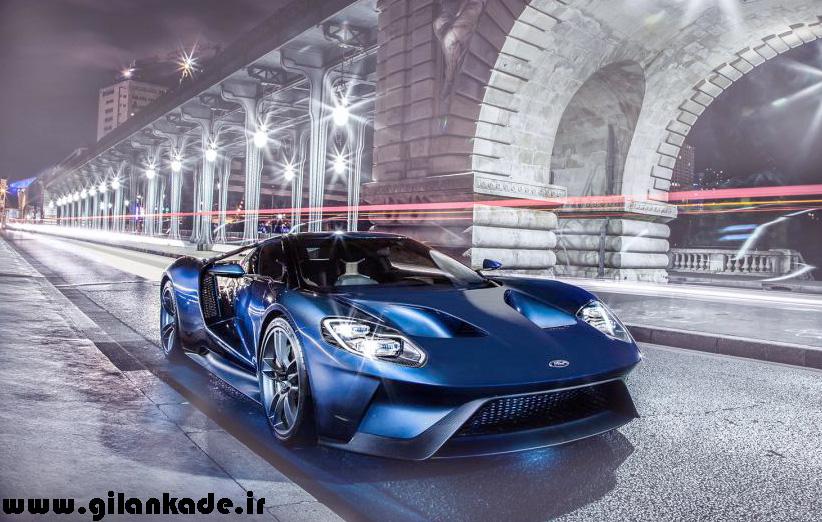 جدیدترین تصاویر از مدل جدید فورد GT منتشر شد