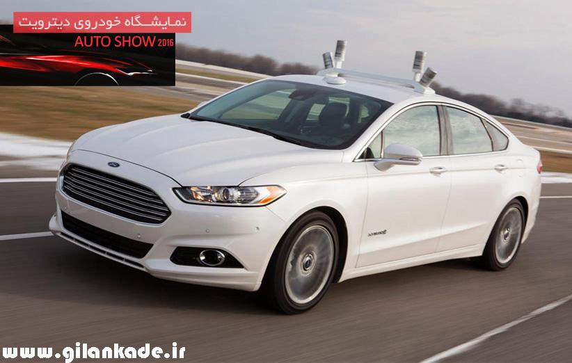 اتومبیل خودران فورد در برف هم قابل استفاده است