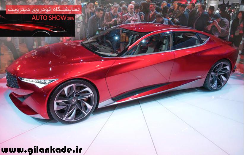 طراحی خاص در طرح مفهومی اتومبیل جدید آکورا