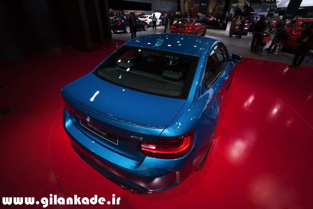 BMW M2 در نمایشگاه خودرو