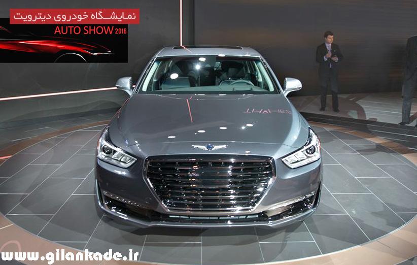 هیوندای خط تولید اتومبیلهای لوکس خود را با جنسیس G90 آغاز کرد