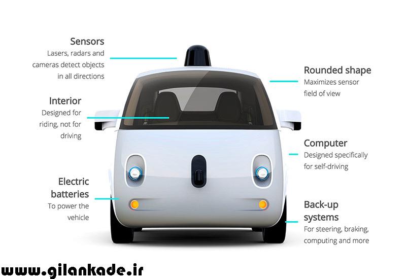 اتومبیلهای خودران گوگل