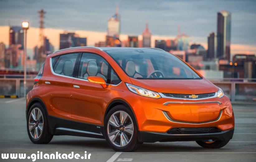 اتومبیل الکتریکی شورولت در سال ۲۰۱۶ راهی بازار میشود